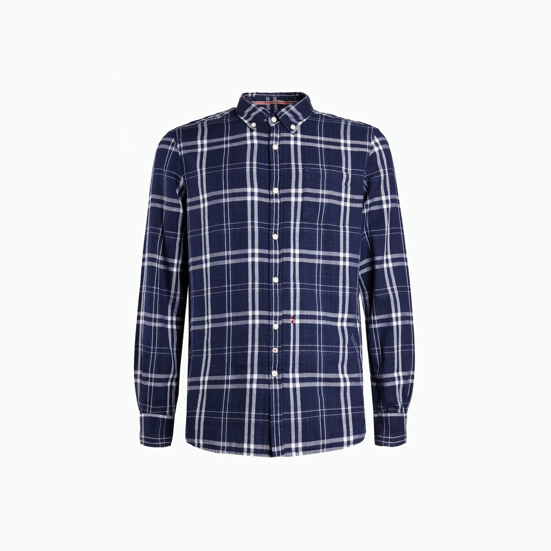 Camisa B77 - Cuadros Azules