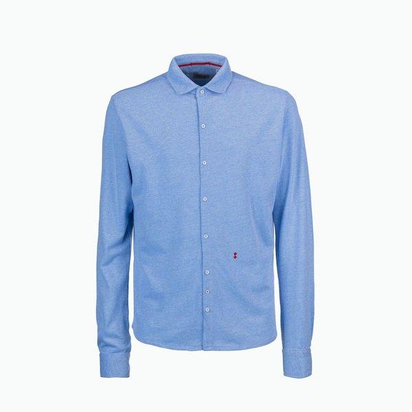 Camisa hombre C114 con cuello compacta