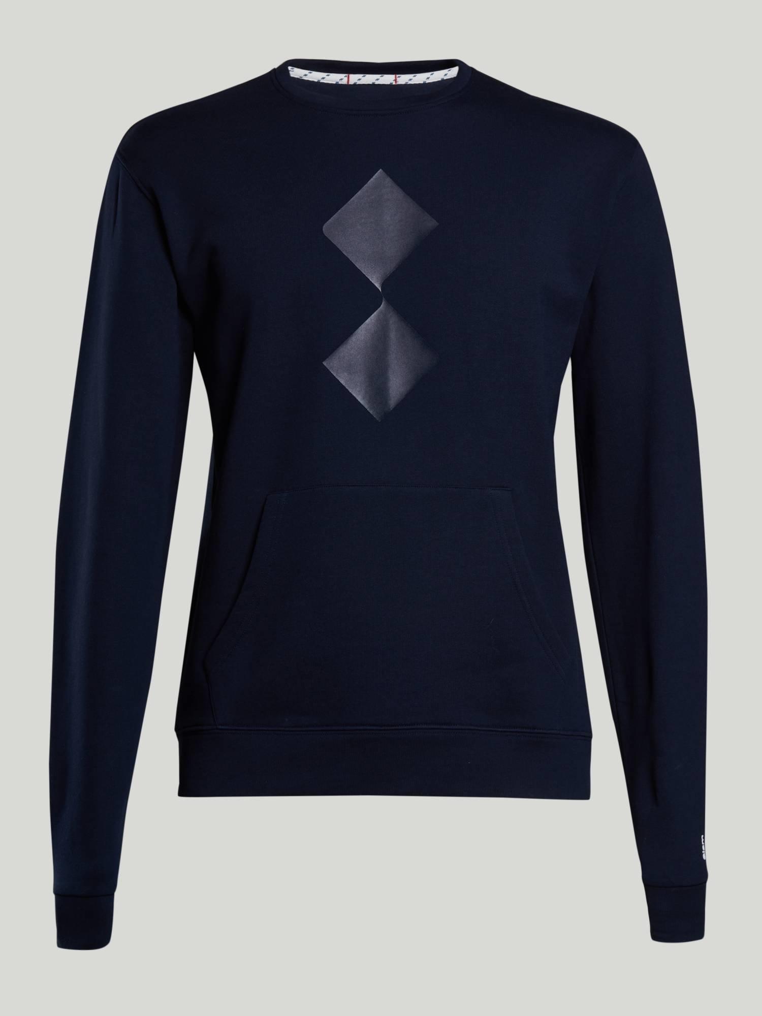 Sweatshirt Clipper - Marinenblau