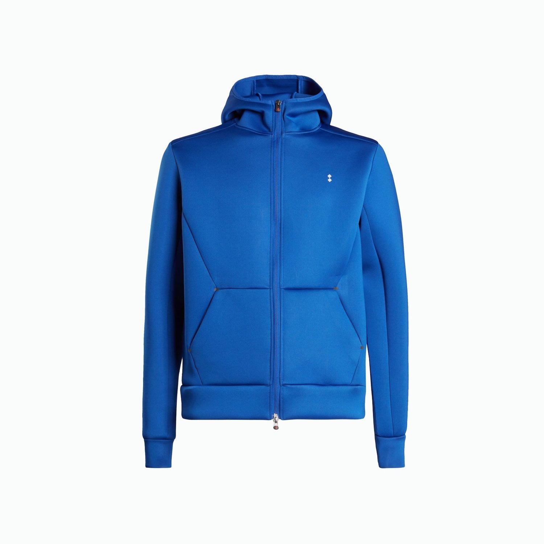 Sweatshirt B123 - Navy Blau