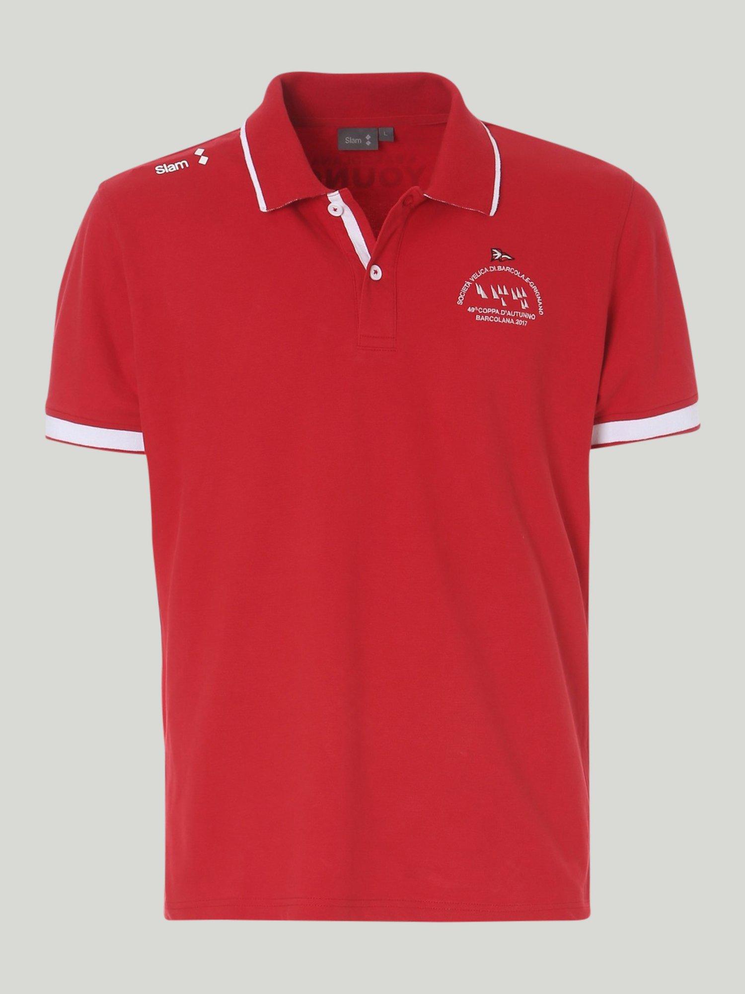 Poloshirt Young 49 Barcolana - Chili Red