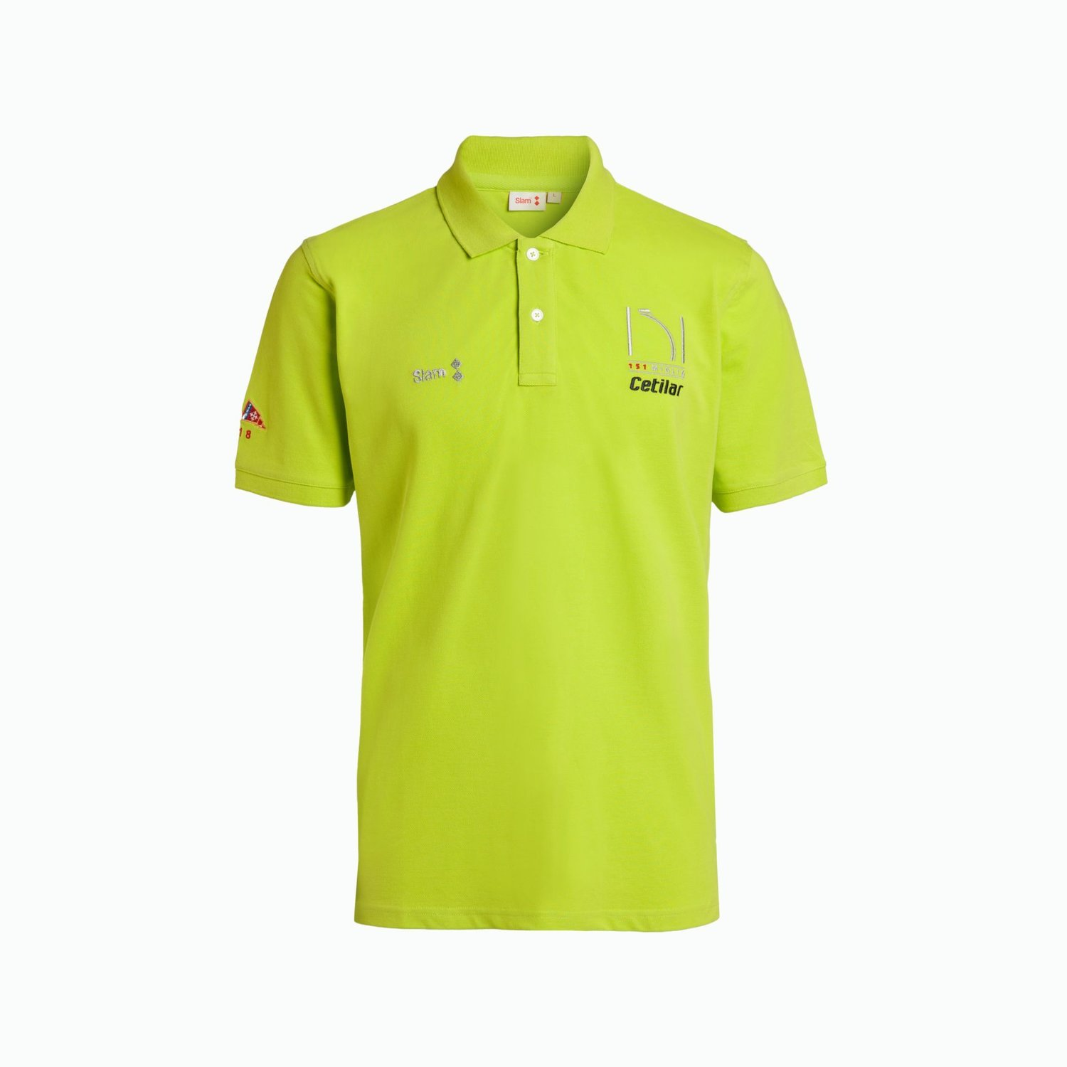 Men's Polo 151 Miglia 2018 - Yellow Neon