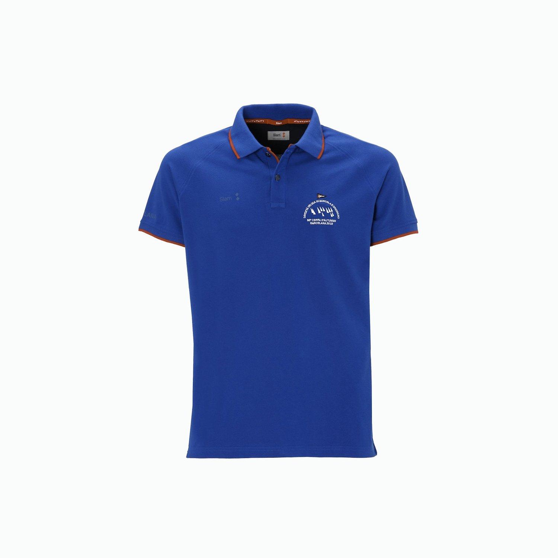 B50 men's polo shirt - Marine Blue