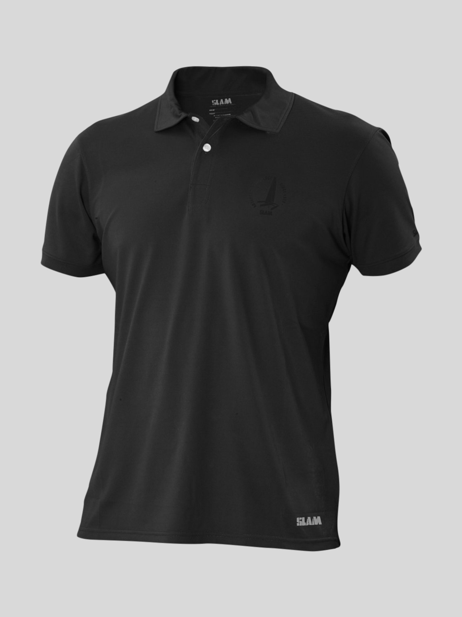 Paterson Ss polo shirt  - Black