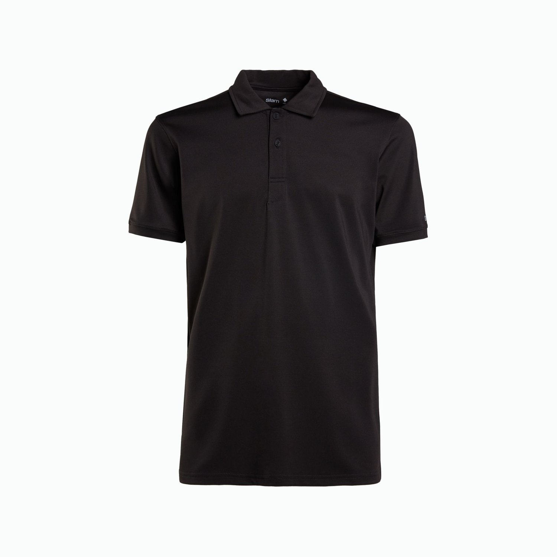 Paterson polo shirt  - Black