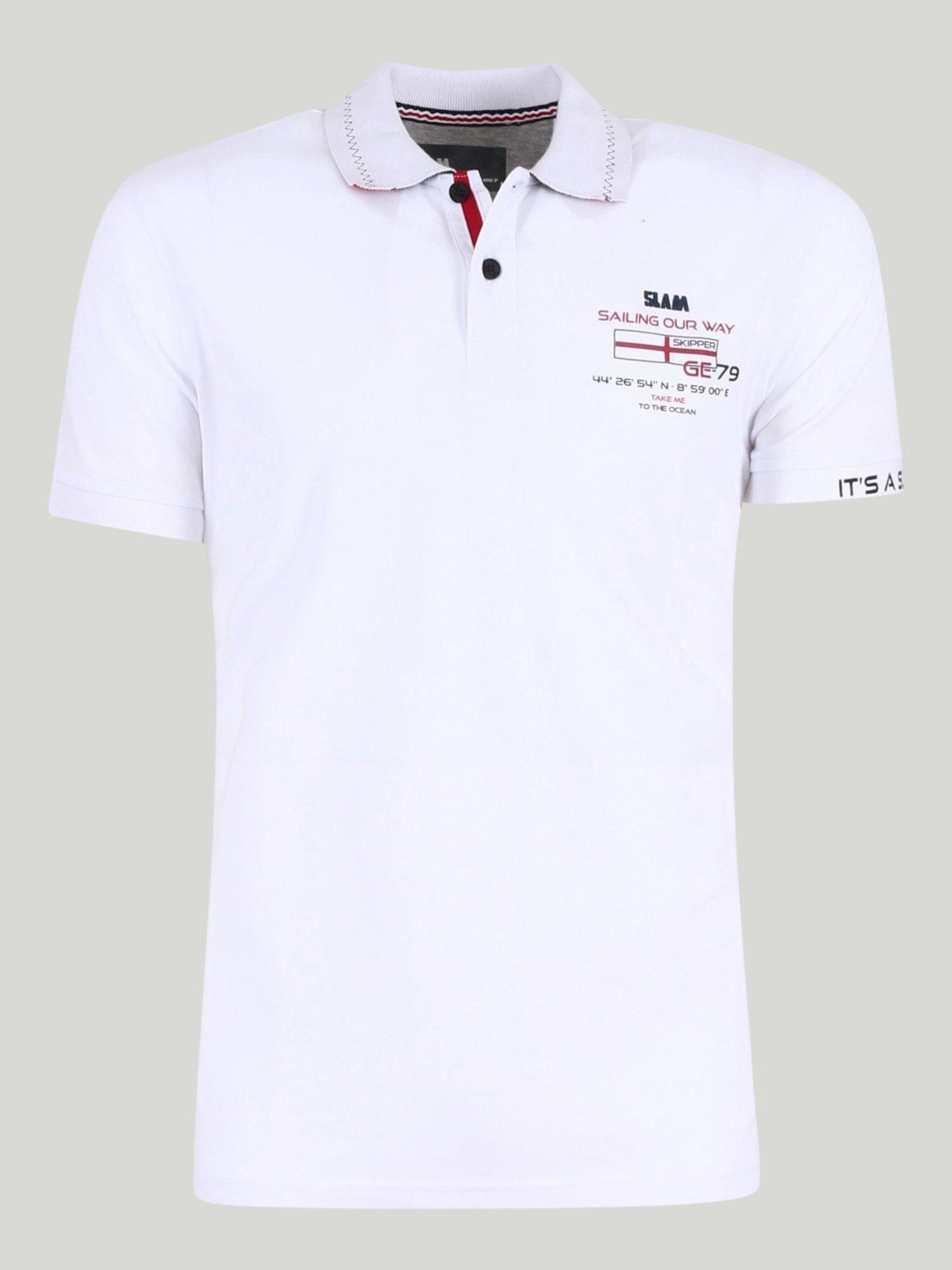 Rosmarin polo shirt  - White