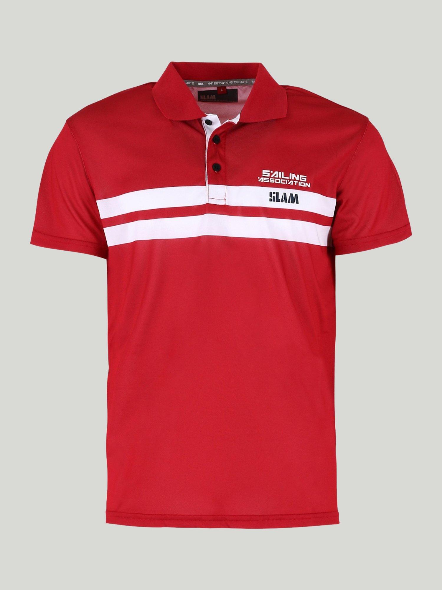 Aspa polo shirt - Chili Red