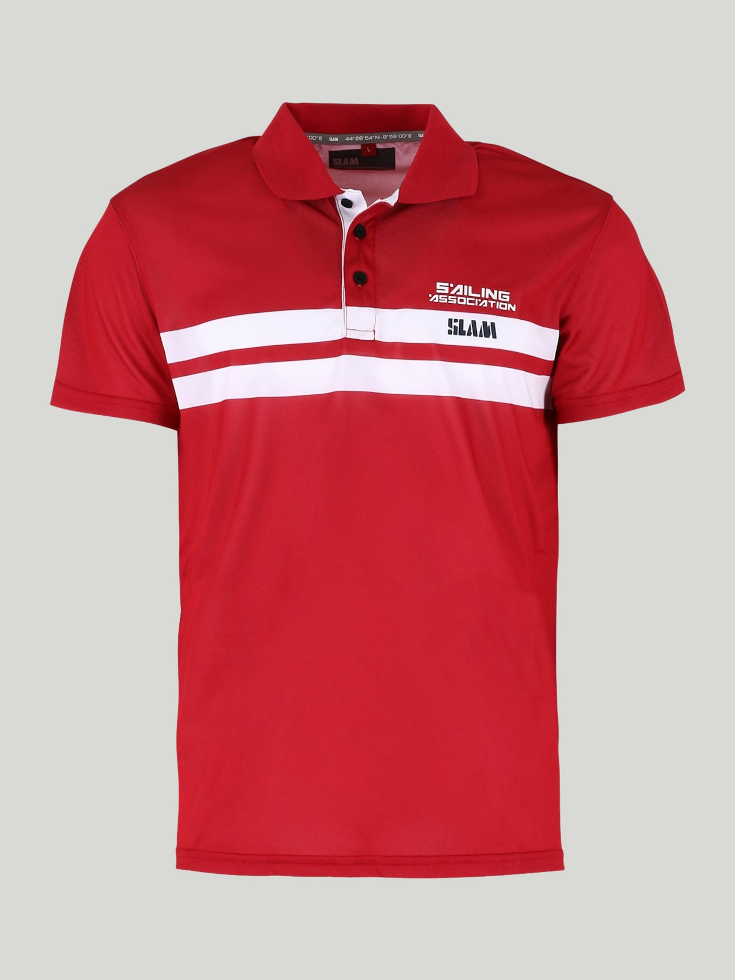 POLO ASPA - Chili Red