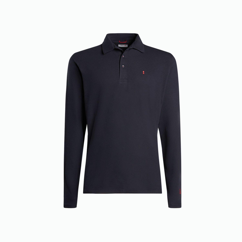 B163 polo shirt - Navy