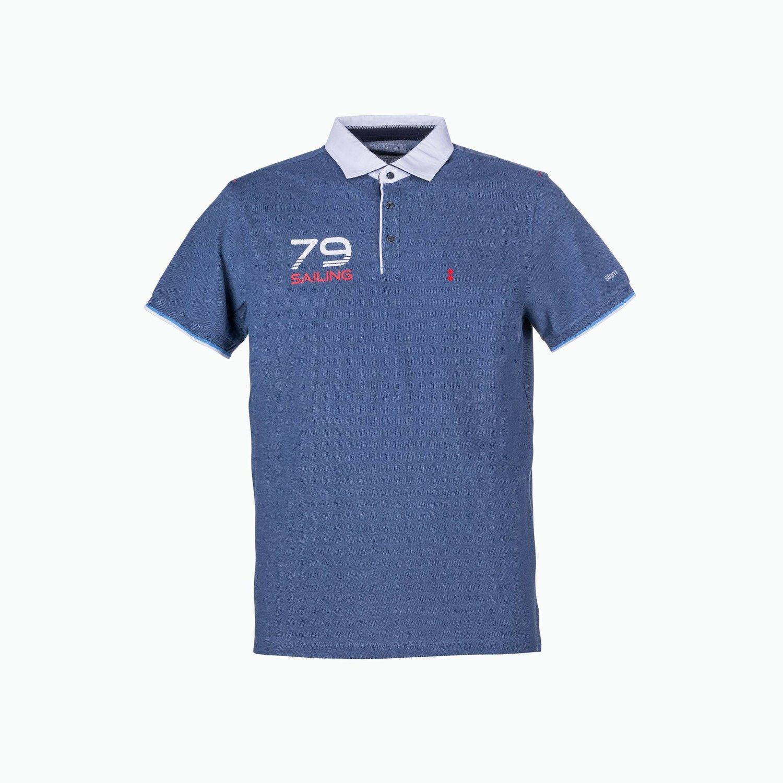 C113 Polo - Azul Marino
