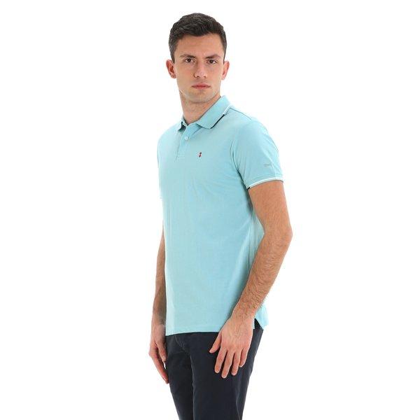 Polo homme Stern New à manches courtes en coton avec logo