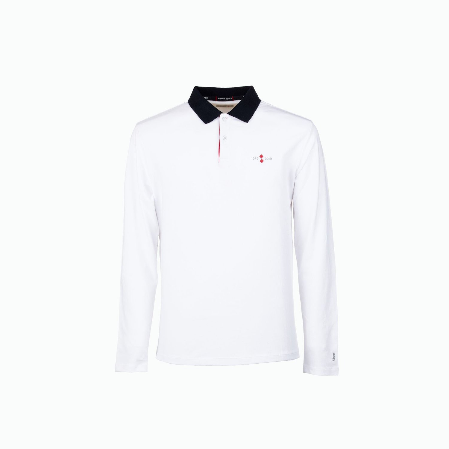 40th Polo LS - Weiss