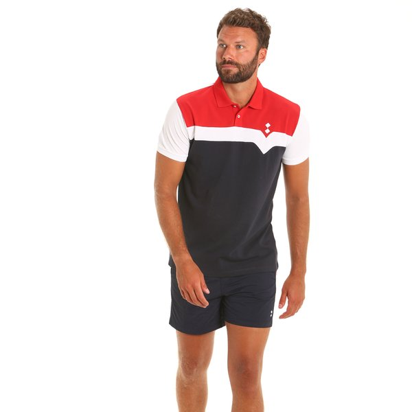 Men's polo shirt E92 in Cotton with three colors