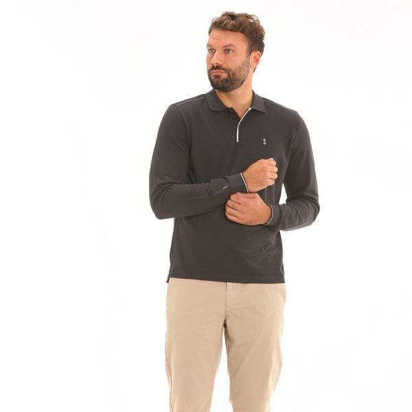 Herren Polo F111 aus doppeltem Piqué-Gewebe aus Baumwolle