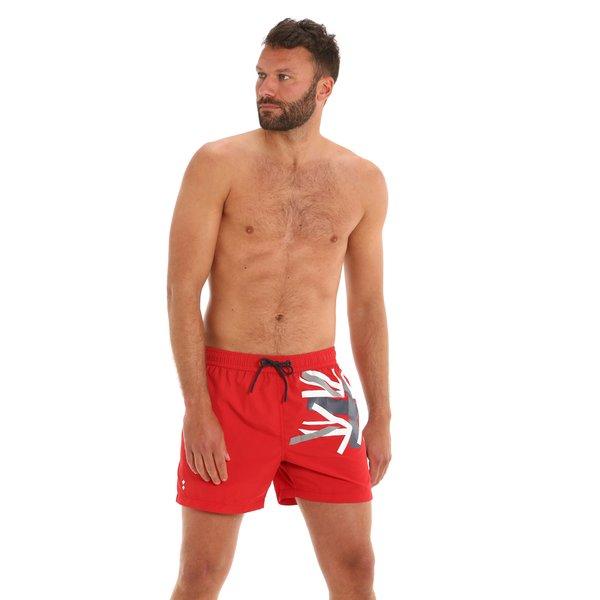Herren-Badehose G166 als Boxershorts mit seitlichen Taschen