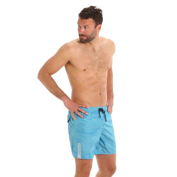 Herren-Badehose G169 als Boxershorts mit elastischer Zugkordel