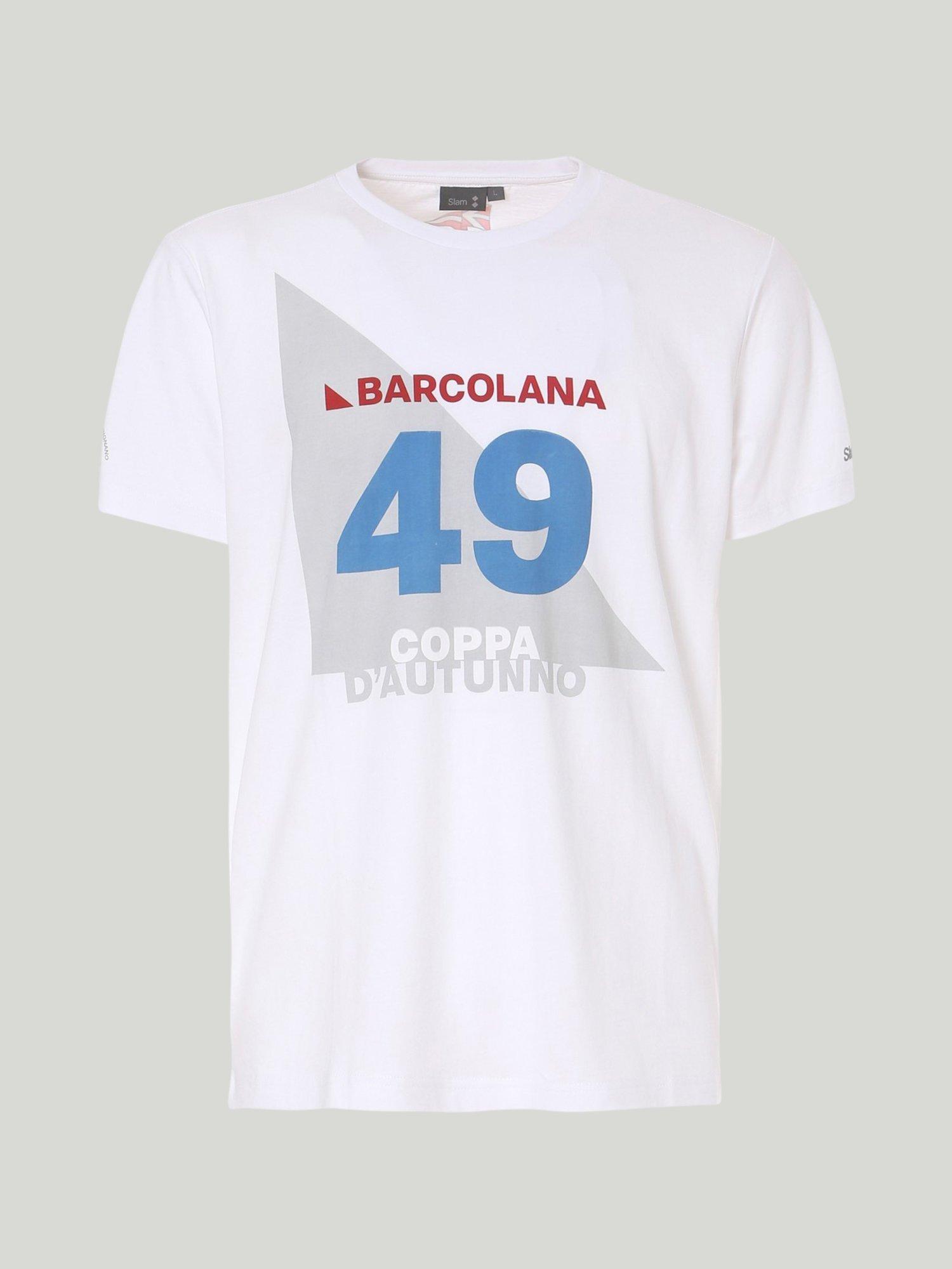 T-Shirt 49 Barcolana - White