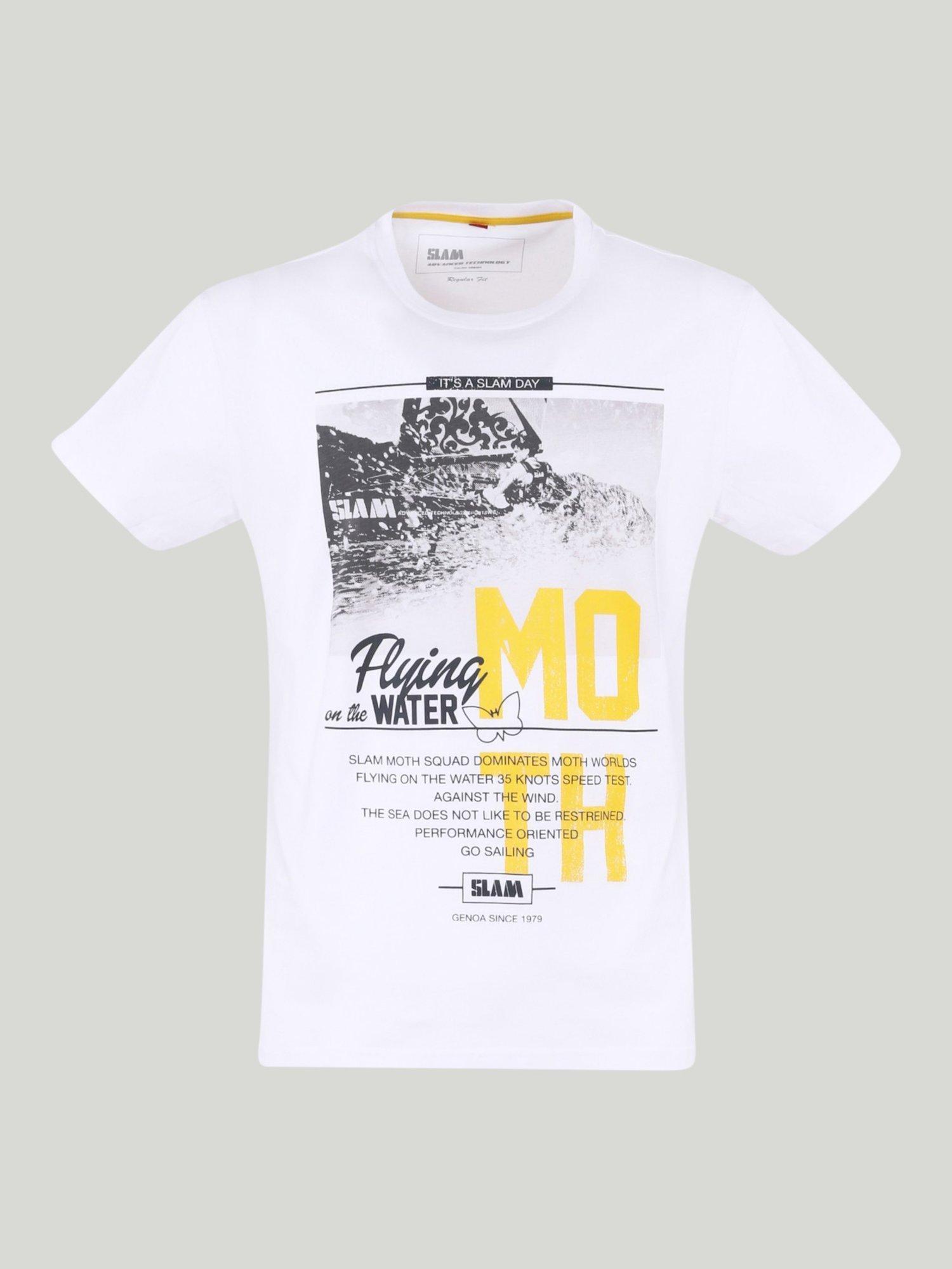 Camiseta Mash - Blanco