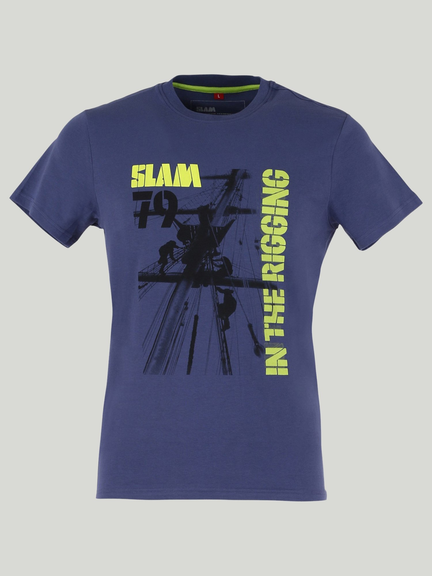 T-Shirt Wops - Blu Profondo