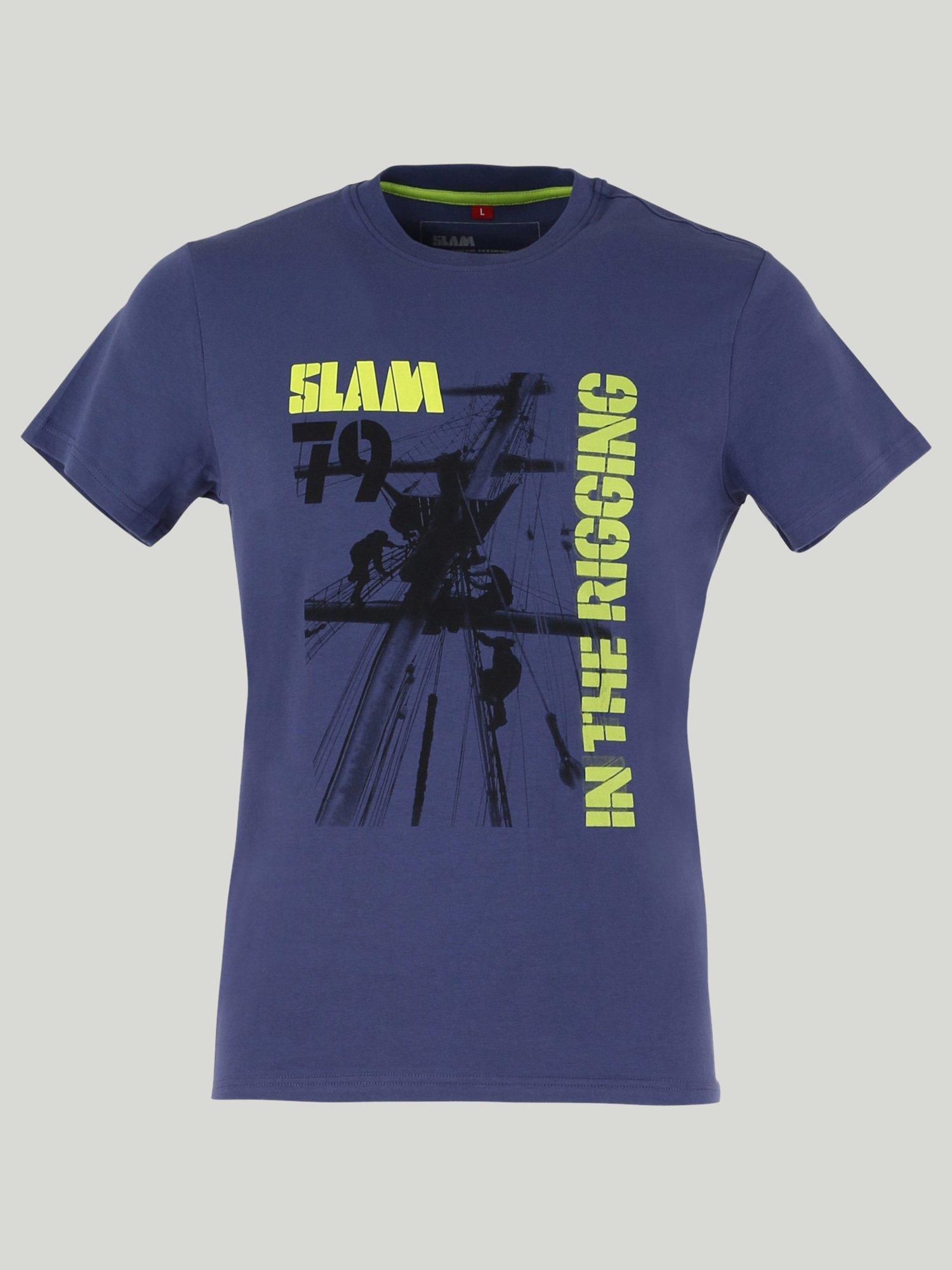 Wops t-shirt - Deep Blue