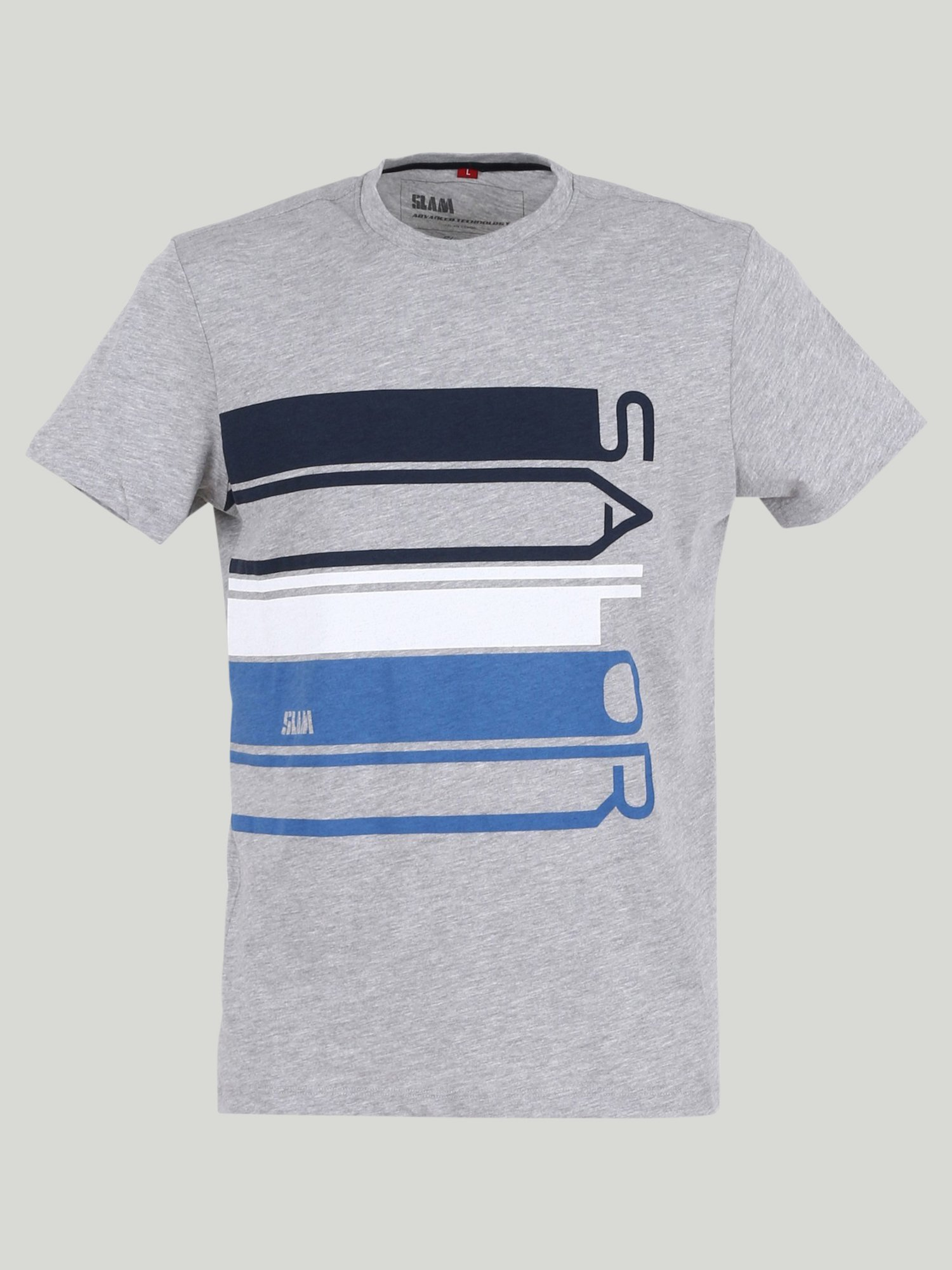 T-Shirt Yopydoo - Grau Melange