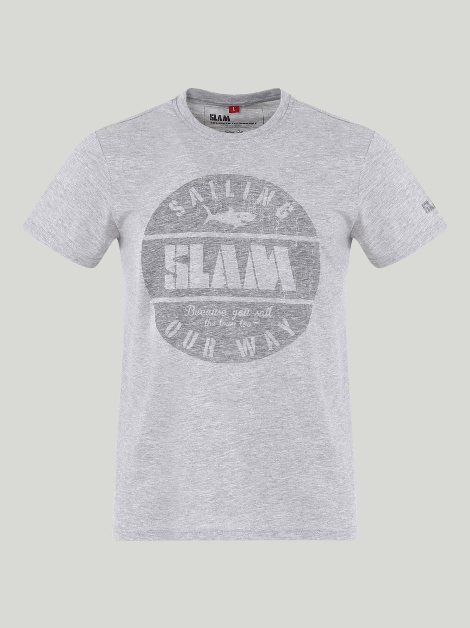 T-Shirt Eureka - Grigio Melange