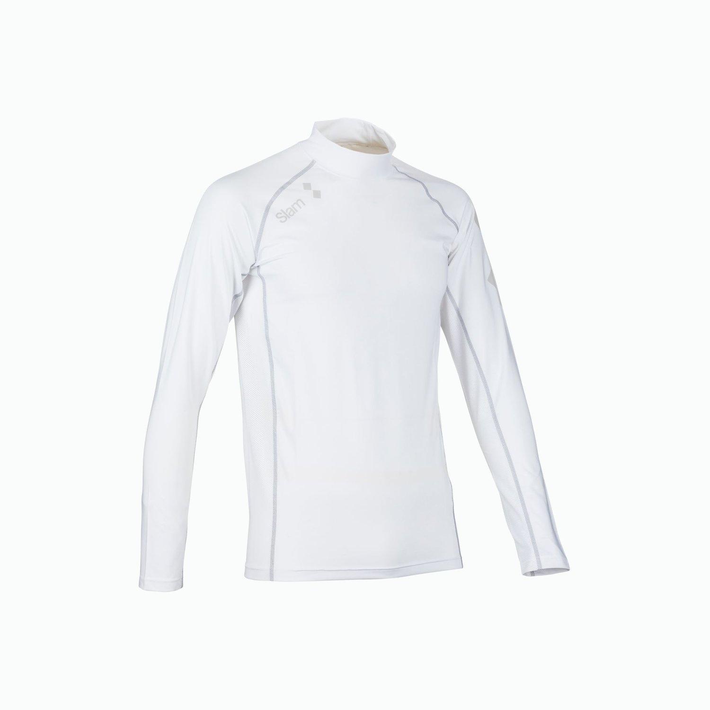 ANTI UV LYCRA TOP LS - Bianco