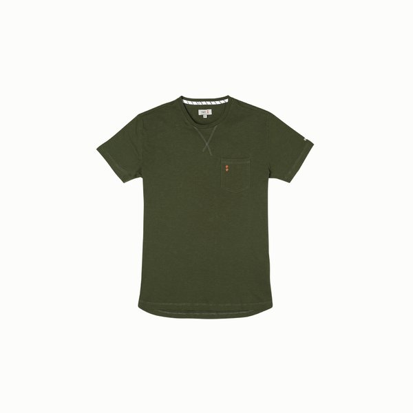 T-Shirt Uomo A105 in Cotone stile vintage