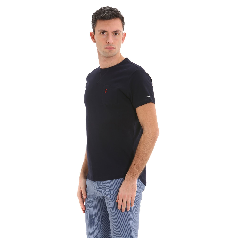 T-Shirt A105 - Marinenblau