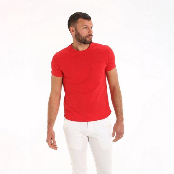 T-shirt uomo A105 girocollo a manica corta in cotone
