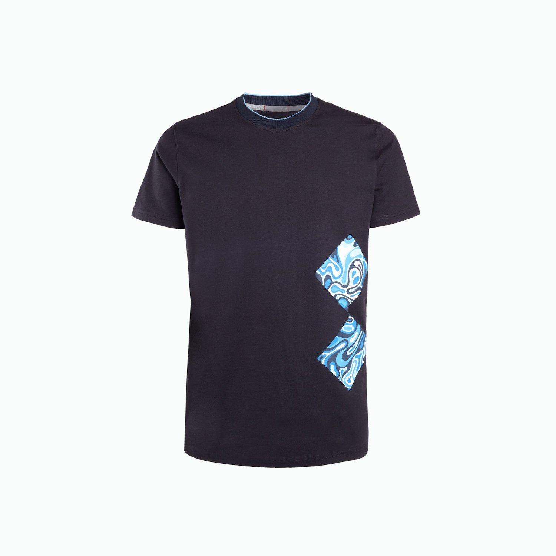 T-Shirt A216 - Marinenblau