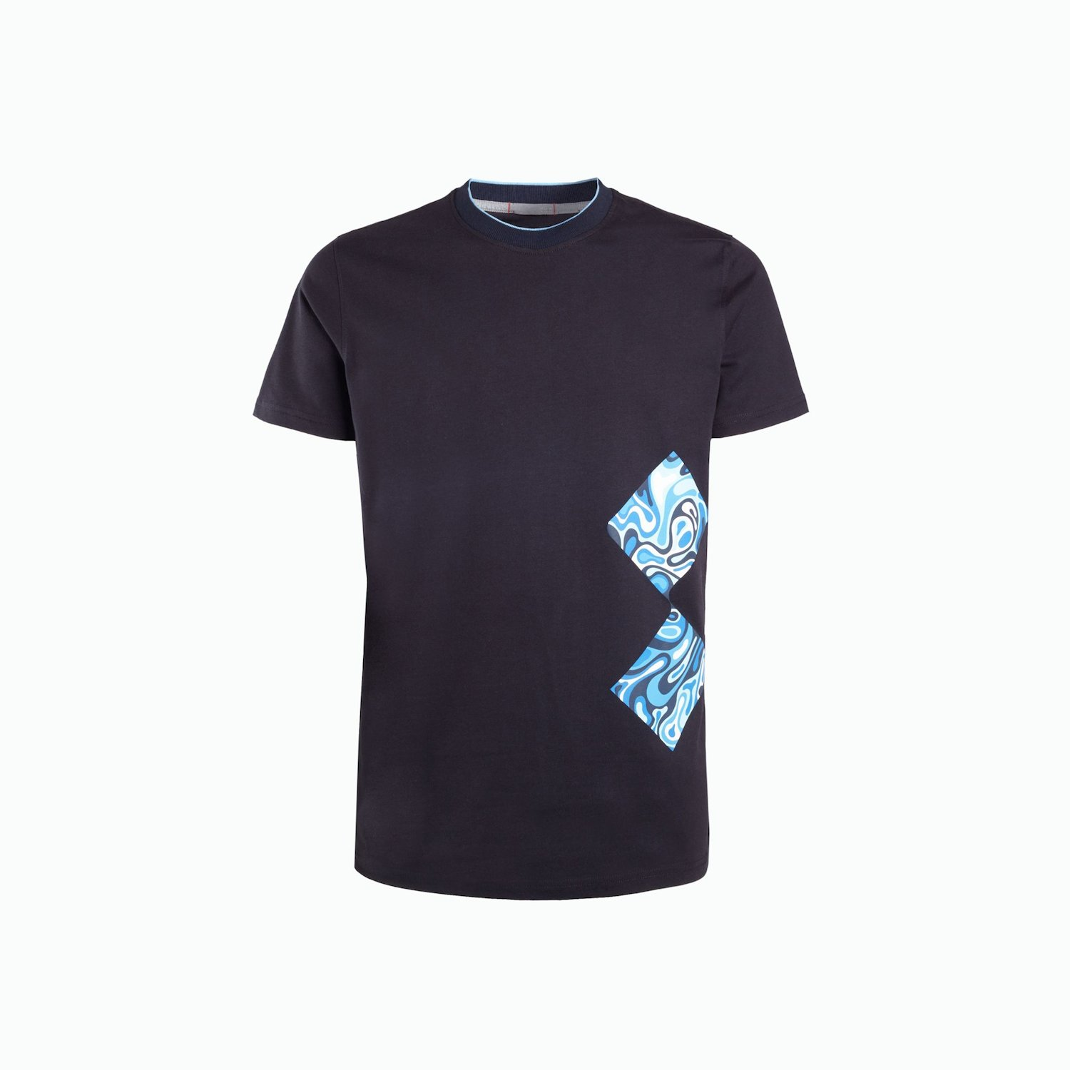 T-SHIRT A216 - Marinenblau