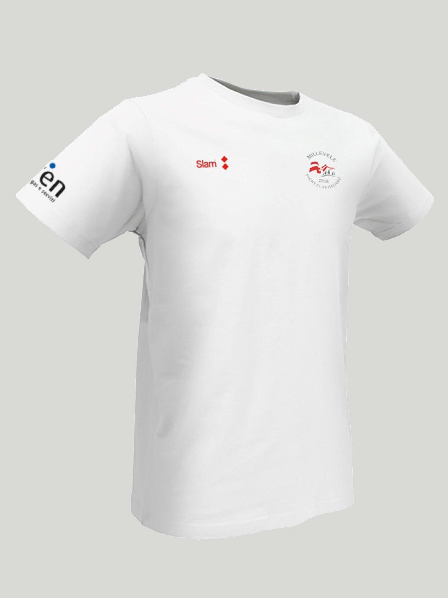 T-shirt Millevele - Blanco