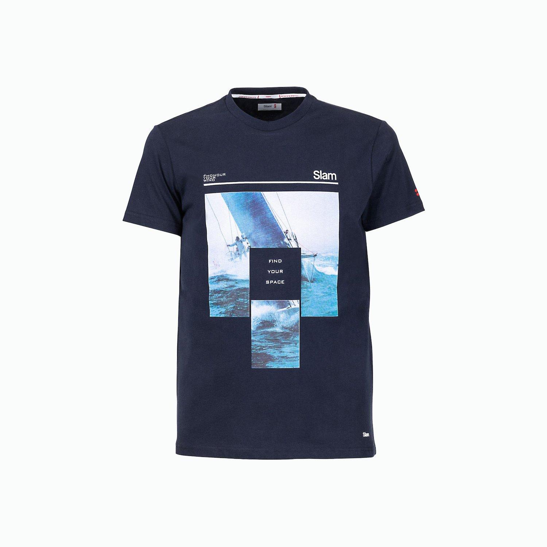 C164 T-Shirt - Azul Marino