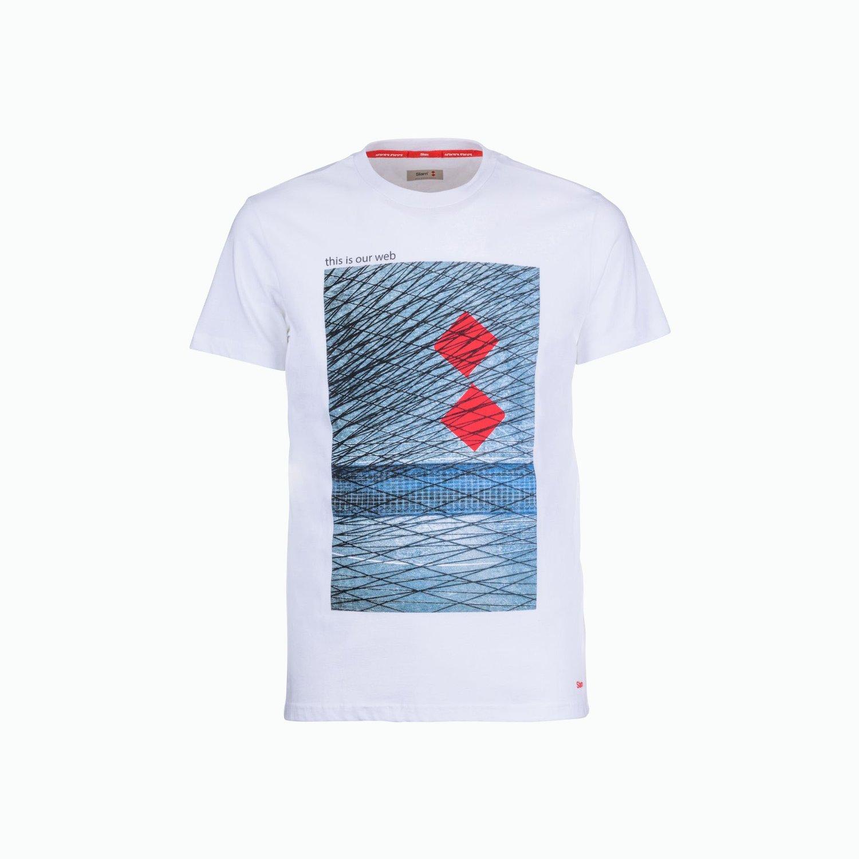 C168 T-Shirt - Blanco