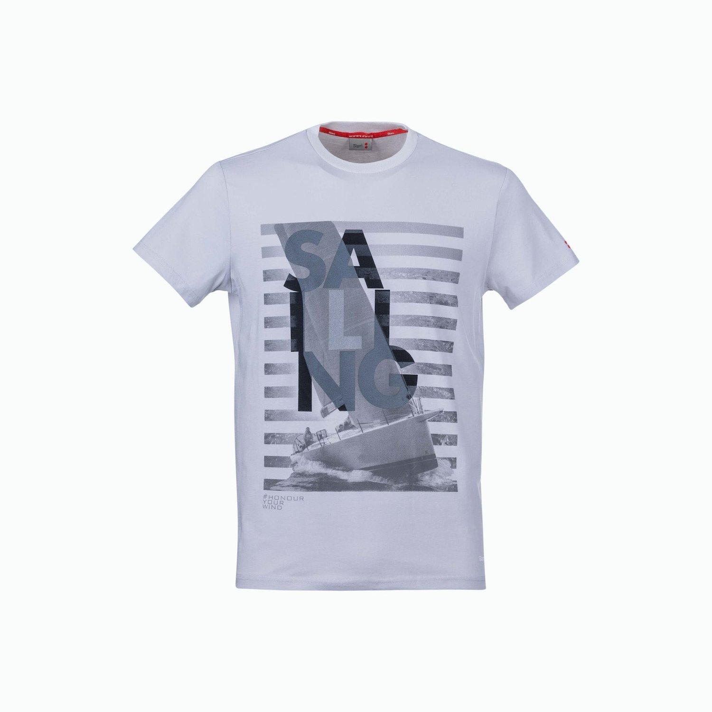 T-Shirt C174 - Grigio Nebbia