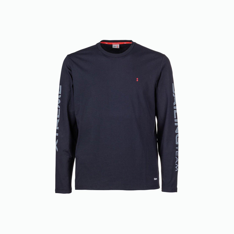 T-Shirt C177 - Blu Navy