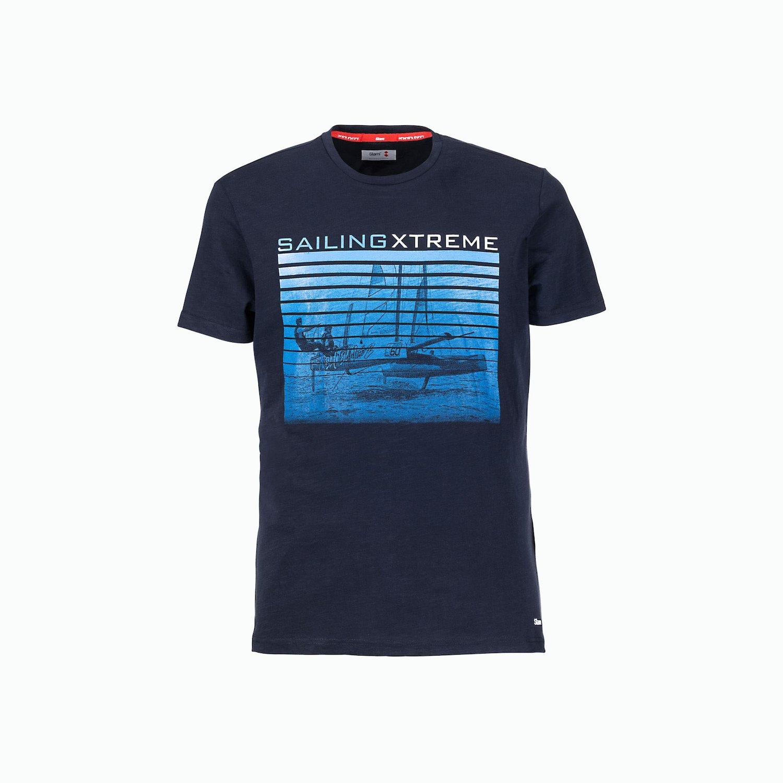 C180 T-Shirt - Azul Marino