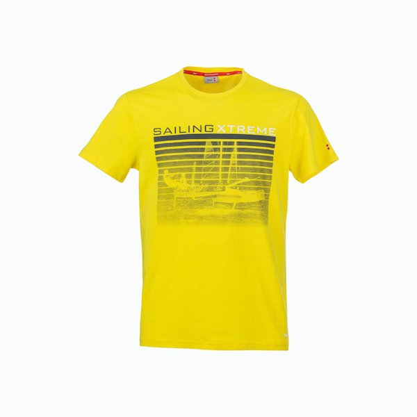 Men's C180 T-Shirt in Cotton with vintage color scheme