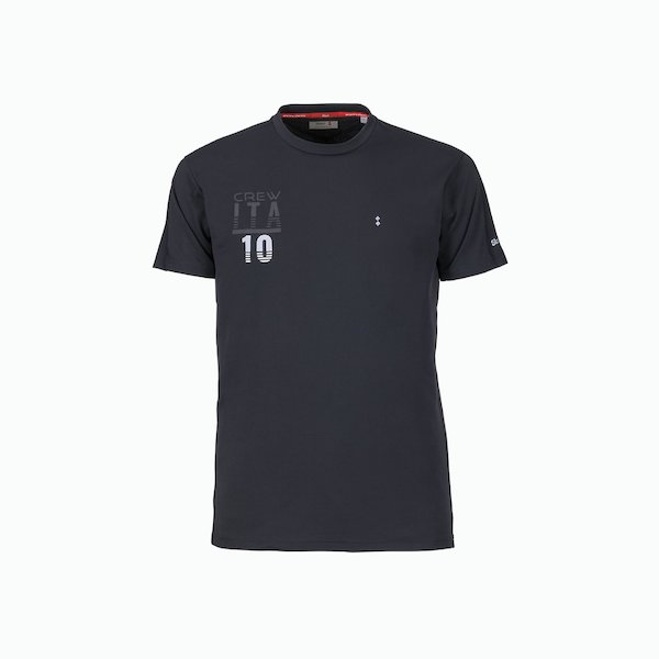 Men's C214 T-Shirt with a cool and anti-UV round neck