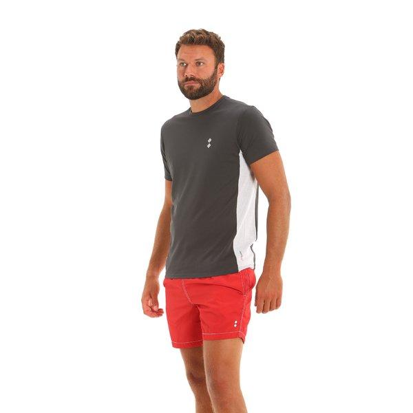 Camiseta para hombre E96 con detalles en contraste de color