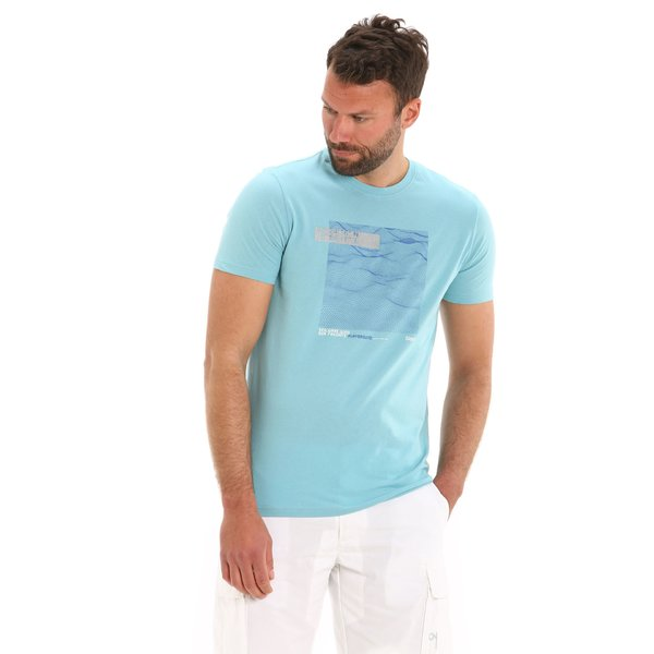 G101 men's short-sleeved crew-neck cotton t-shirt