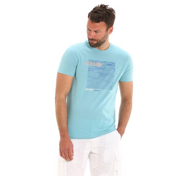 T-shirt uomo G101 girocollo a manica corta in cotone