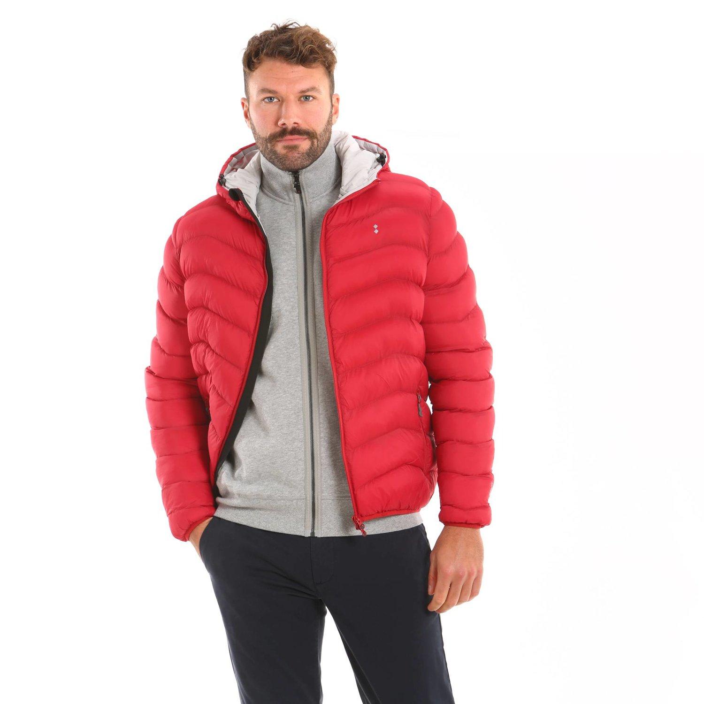 B100 jacket - Chili Red