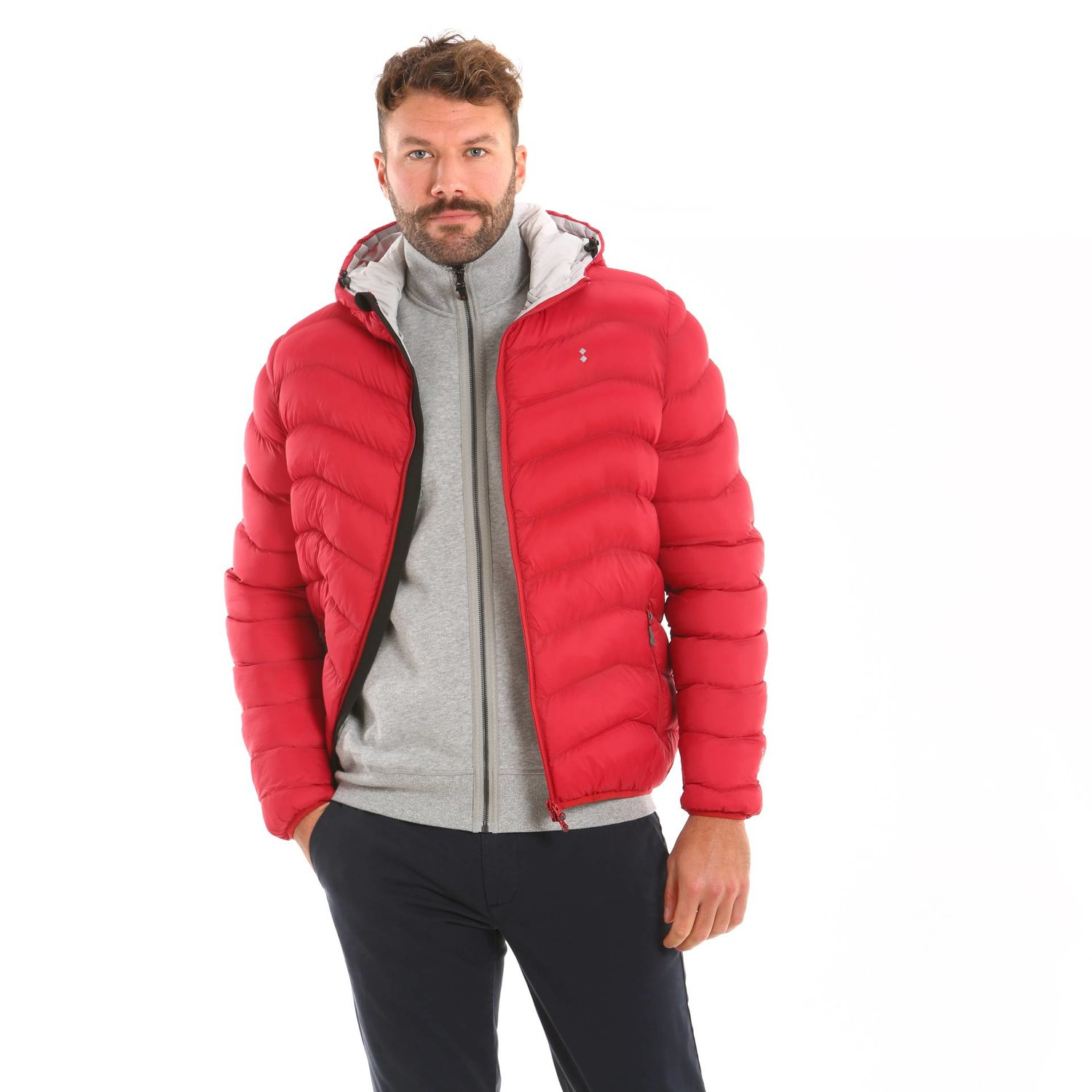 B100 jacket - Chili Red