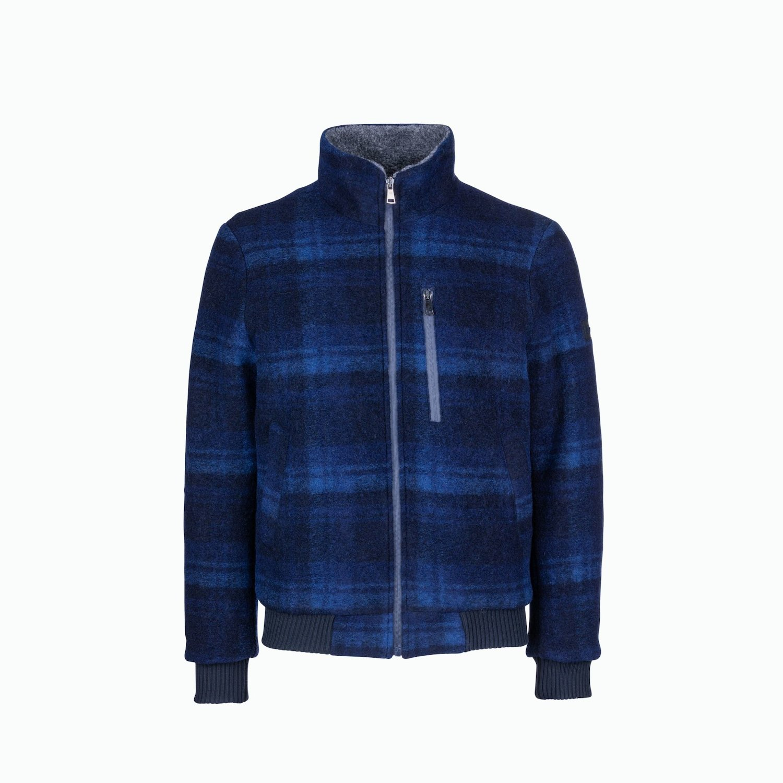 Reliance D11 Jacket - Check Blue