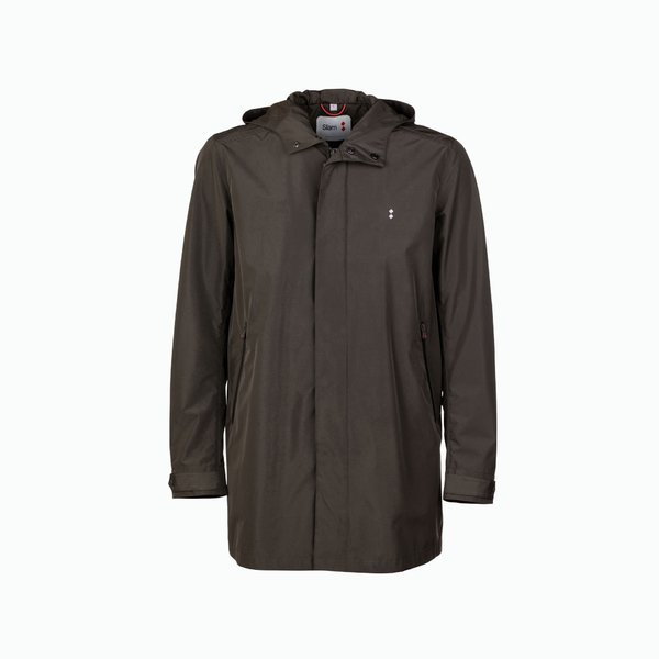 Men's Pintler jacket in polyester with trench details