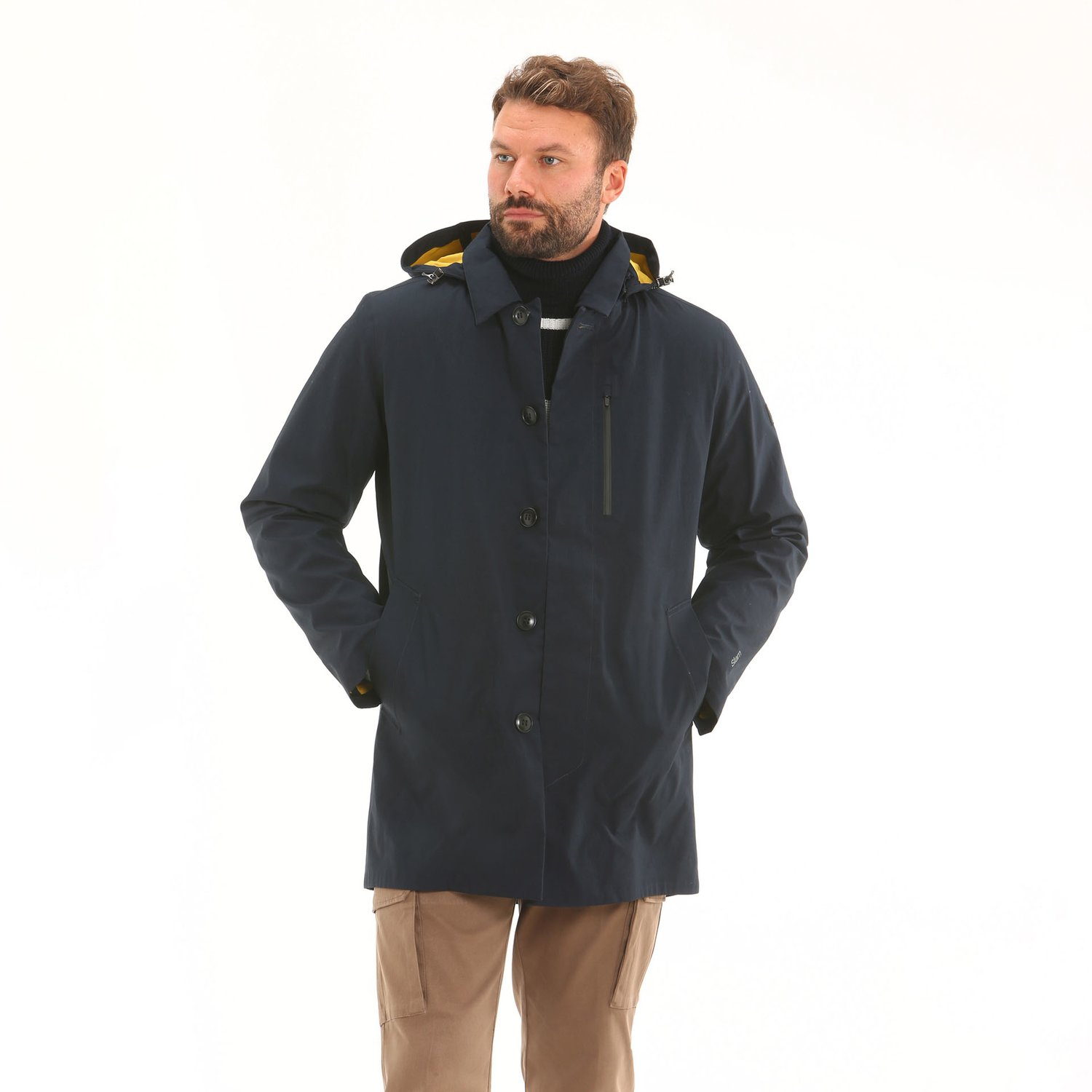 Cappotto Reliance D14 - Navy
