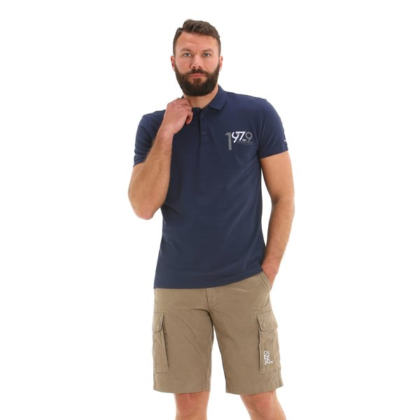 E153 men's Bermuda shorts in 100% ripstop cotton