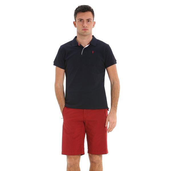 Bermudas para hombre E138 con cordón en la cintura